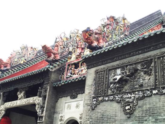 陳さんの屋根